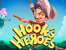 Игровые автоматы Hook's Heroes играть на деньги онлайн в игровой автомат